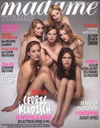Madame Figaro - Ana Girardot, Christa Theret, Deborah François, Marine Vacth, Nora Arnezeder, Raphaëlle Agogué
