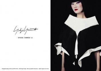 Yohji Yamamoto SS14 - Nathalie Malric