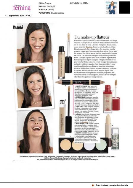 Femina - Makeup Flatteur - Janvier 2017